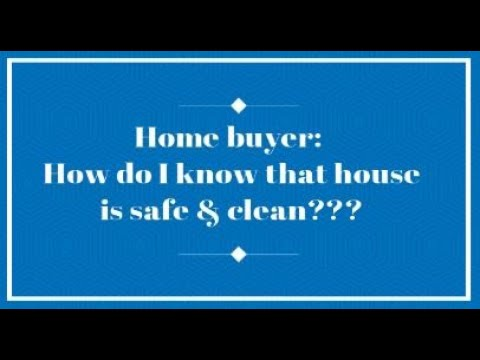 RE agents, how do your clients know if that house is clean and safe? #sanitize