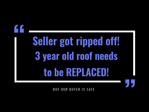 😯 Home inspection in Deland, FL reveals home owners got ripped off! This roof needs to be replaced!
