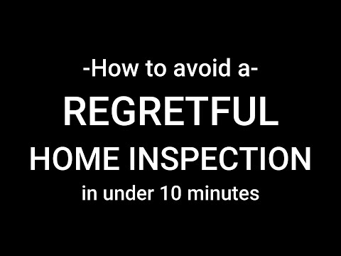 avoid a regretful home inspection in under 10 minutes, orlando