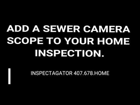 Inspectagator intro sewer cam video