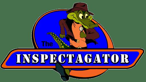 Inspectagator Gator Jones Logo