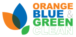 Orange Blue and Green Clean